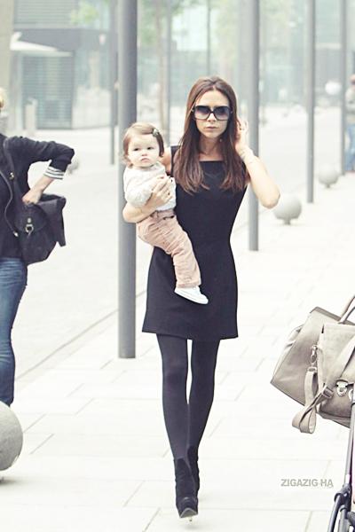 23 avril | Victoria & Harper at the Lanvin store - Beijing
