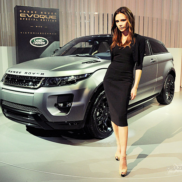 21 avril | Victoria at a photocall for the Range Rover Evoque Special Edition launch