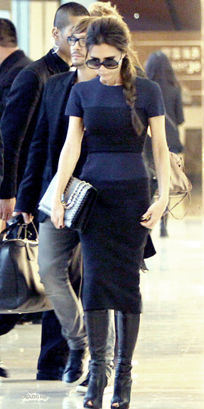 24 avril | Victoria leaving the China World Trade Center
