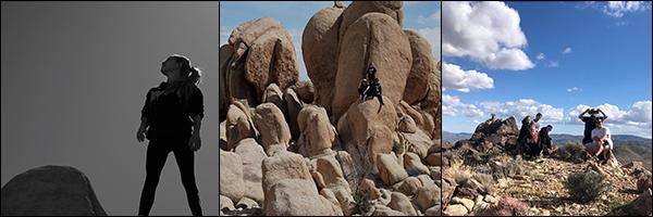 - 20/03/19 - Bea Miller et des amis ont passés la journée dans le Parc National Joshua Tree en Californie. -