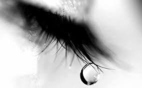 Une larme sur tes joues