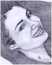 Le sourire d'une femme