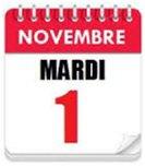Le premier novembre