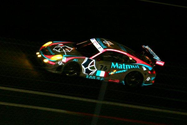 2008/la magie du Mans la nuit plein la vue avec la Porsche IMSA