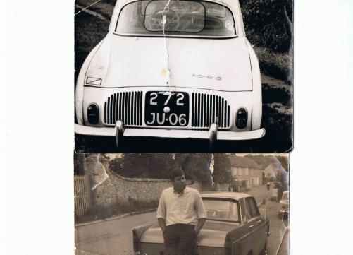 Une paranthese francaise avec la 1093(1963) 4 moteurs en 100000km!! et la 404 injection bof...