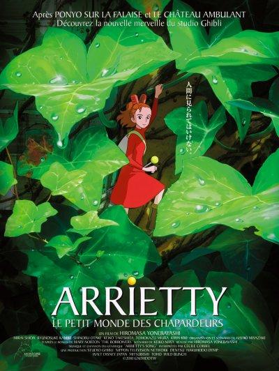 affiche d'Arriety le petit monde des chapardeurs