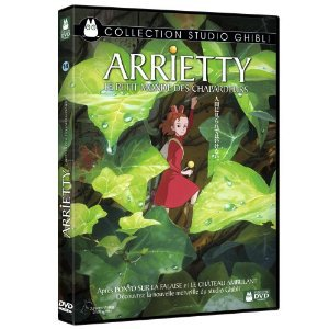 DVD, Blu-Ray et Bande originale d'Arrietty annoncés en France