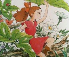 Espace consacré à Arrietty au Cinéaqua de Paris