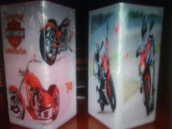 lampes motos