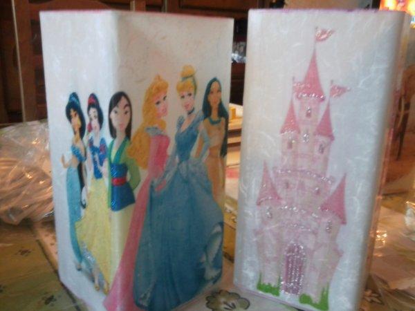 lampes princesses