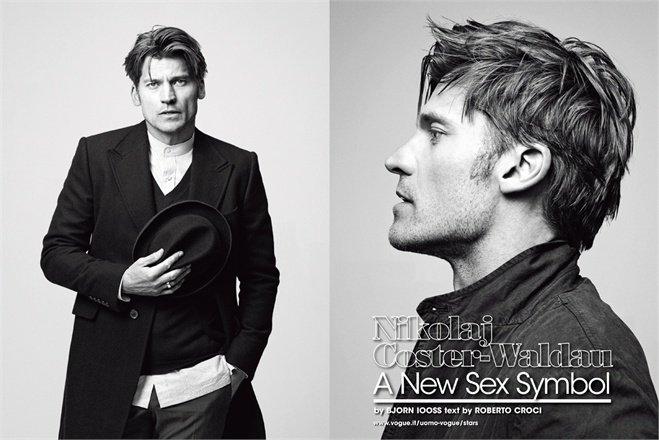 Nikolaj dans Serie Mag et dans Vogue