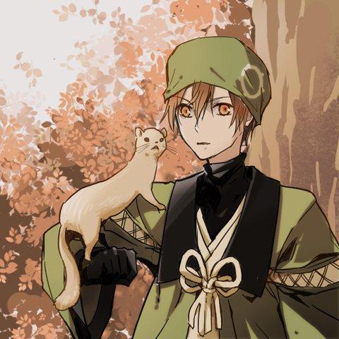 Léo et Sasuké (le prénom et la personnalité des personnages suivant à été chois par: Mizu-Nahis et fic-manga-naruto)
