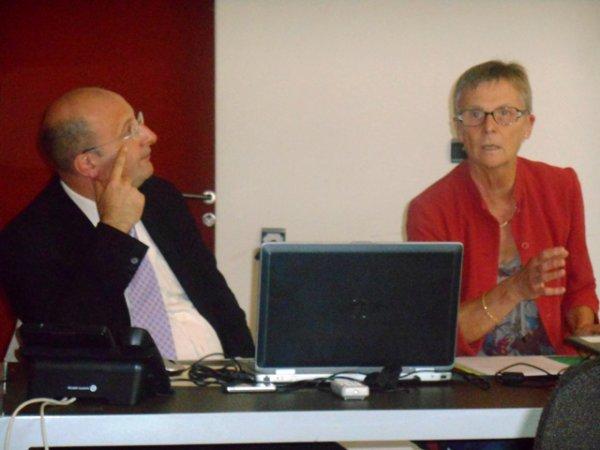 Lors de la réunion de septembre de la Commission historique du Nord, Mme Demars-Sion et M Limelette, du Centre d'histoire judiciaire, ont fait le point sur leurs travaux relatifs au Parlement de Flandre et à ses archives