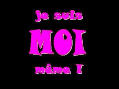 Moi , rien que moi :)