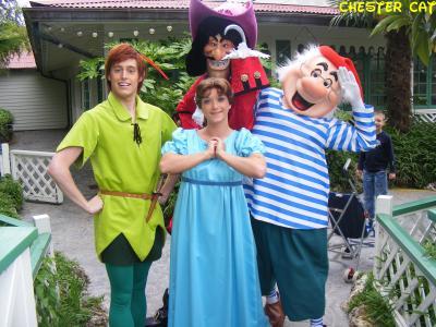 Peter pan wendy le capitaine crochet et mr mouche le - Peter pan et capitaine crochet ...