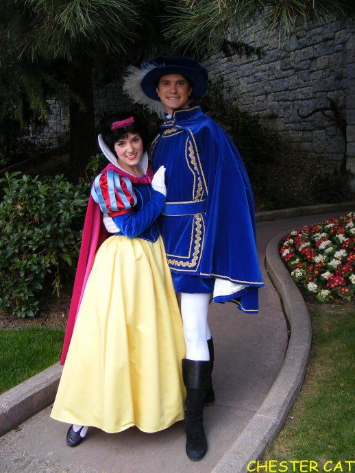 Blanche neige et son prince le madeleinois disneyphile - Blanche neige et son prince charmant ...