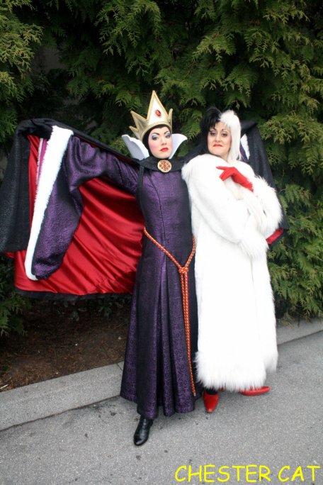 Cruella et la reine