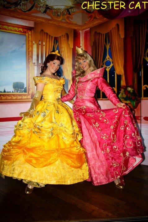 Aurore et Belle