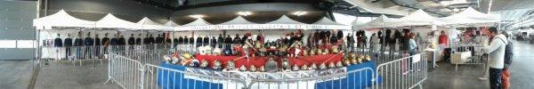 mon stand  au portes ouvertes csp besancon centre  avec lune présentation de casques d'eric (mon pote)en complément