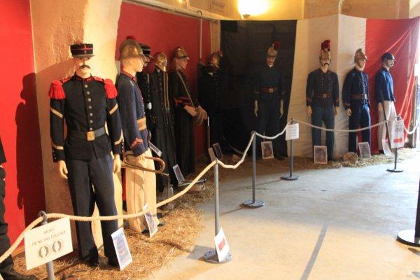 ma collection exposée pour le centenaire des pompiers de PIERRELATTE ( DROME)  2013