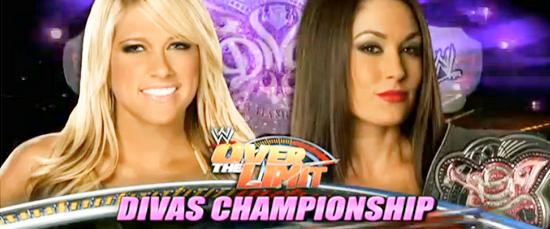 Brie Bella  vs kelly