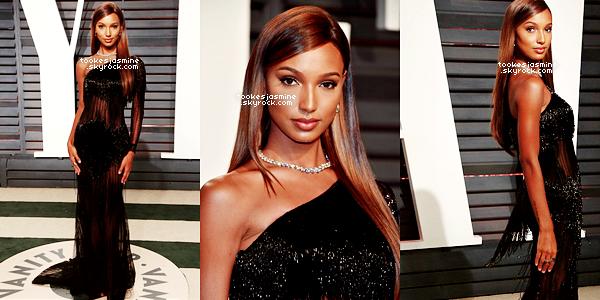 26 Février 2017 - Jasmine Tookes était à la soirée annuelle organisée par Vanity Fair pour la cérémonie des  Oscars. L'évènement a eu lieu au Wallis Annenberg Center for the Performing Arts à Beverly Hills.