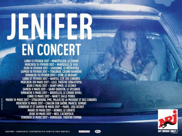 "Jenifer - ""Paradis Secret"", son nouvel album ENFIN disponible !"