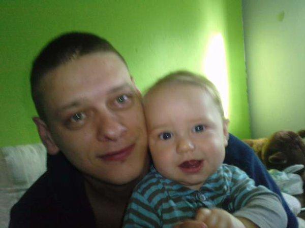 mon homme et mon bebe