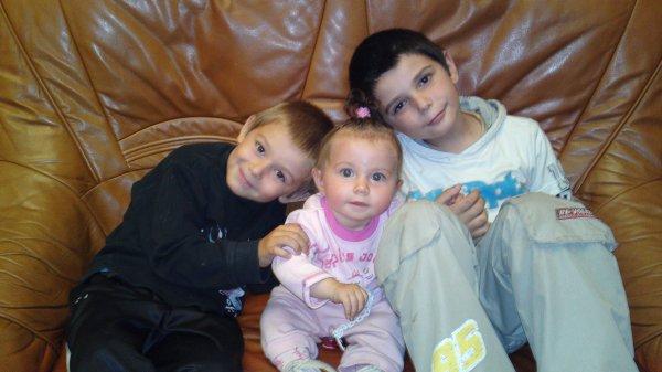 mes neveus et ma niece