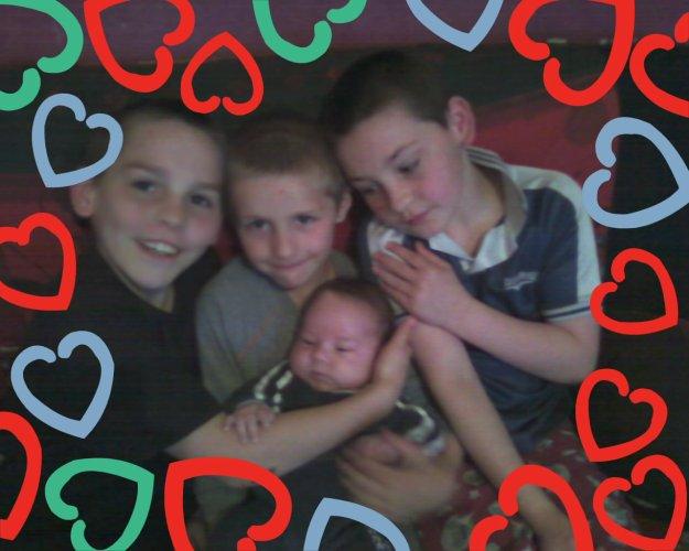 audrey et sa famille et amie