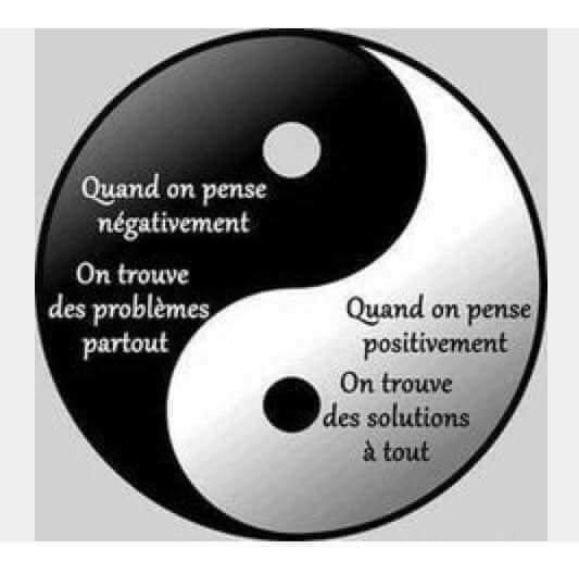 Restons zen et positive les amis :)