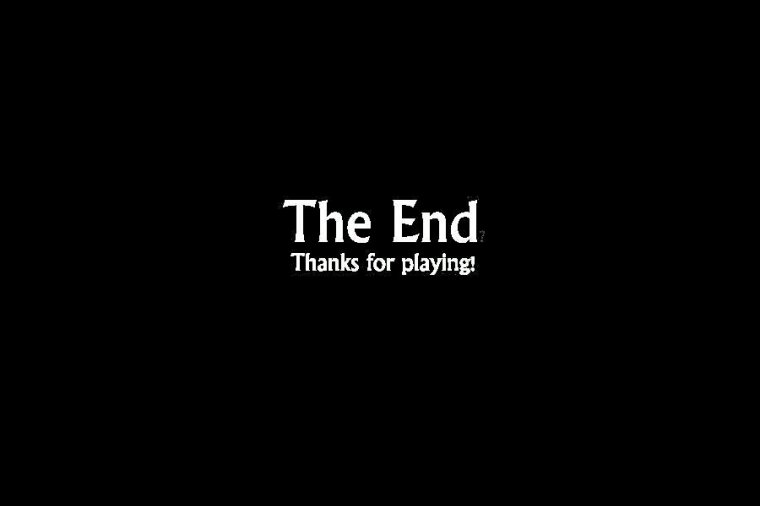 THE END...?