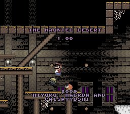 Mes playlists : N°3 - Super Mario World : The Haunted Desert [Version 1.01]