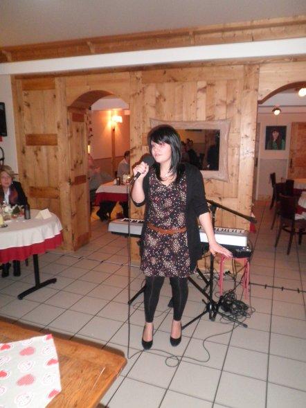 Concert à l'occasion de la Saint Valentin, au Restaurant Le Tilia à Joux, le 14 Février 2011