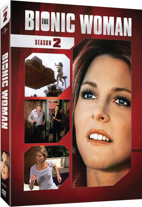 The bionic woman (Super Jaimie) coffret saison 2 au USA