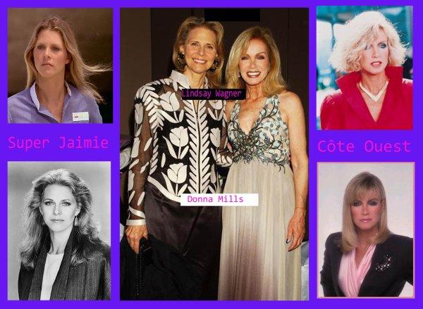 Lindsay Wagner et Donna Mills