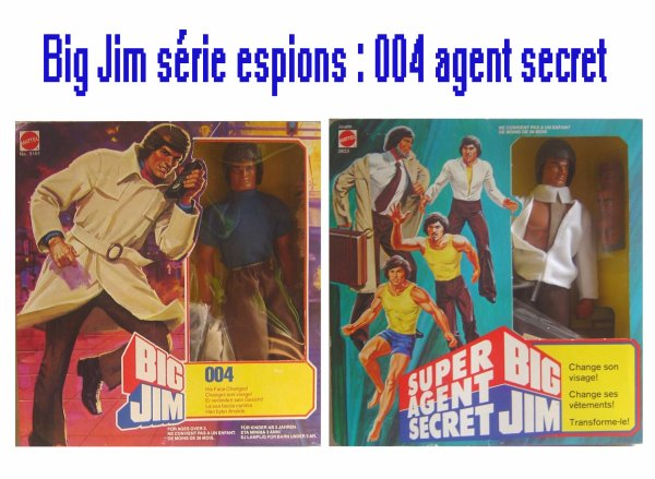 Big Jim série Espions : 004 Agent Secret