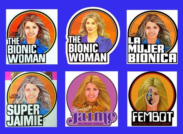 """Les logos """"Bionic Woman"""""""