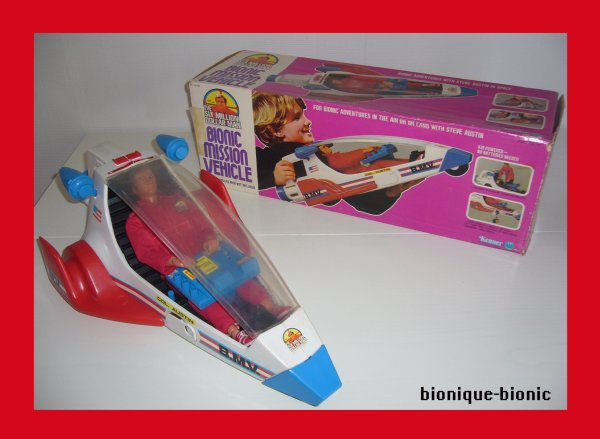 Bionic mission vehicle et The Bionic Woman (doll) Kenner