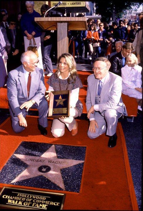 Walk Of Fame-Lindsay Wagner 1984