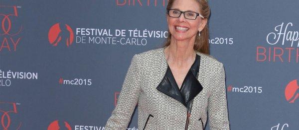 """Lindsay Wagner """"Super Jaimie"""" au Festival de la TV de Monté Carlo"""