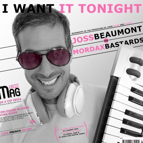 "I Want It Tonight"" Michaël Meyer feat Joss Beaumont (2014)"