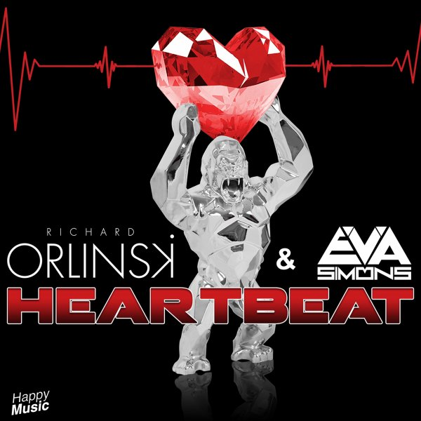 Heartbeat - Richard Orlinski & Eva Simons (Official Music Video)