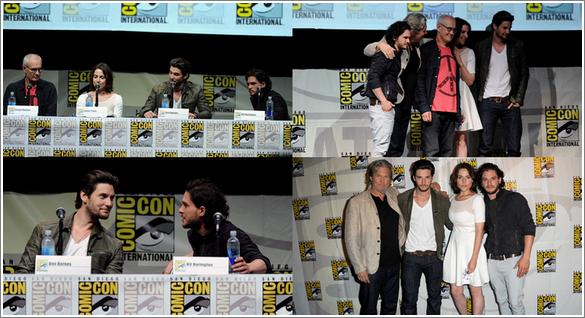 """Comic Con de Game Of Throne et de """"The Seven Son"""" + Photoshoot pour Entertainment Weelky"""