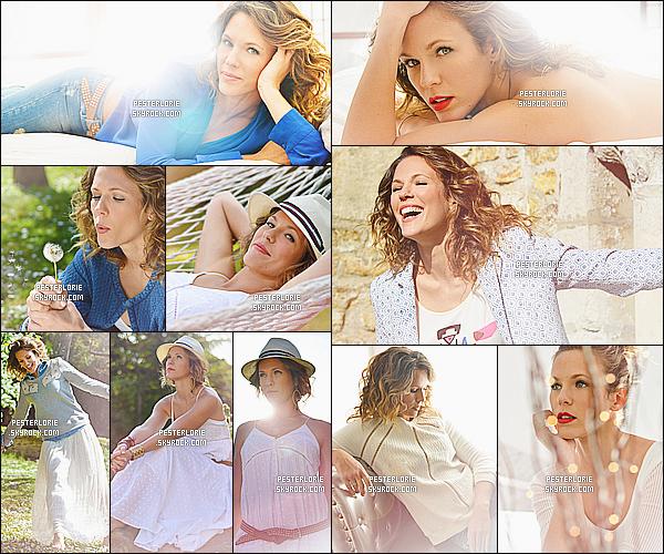 Découvrez le nouveau photoshoot en cette belle saison d'été de notre Lorie Pester !