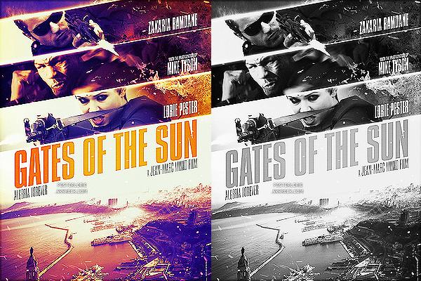 Découvrez l'affiche officiel de « Gates of the sun Algeria forever » où Lorie apparait. [/alig fen]