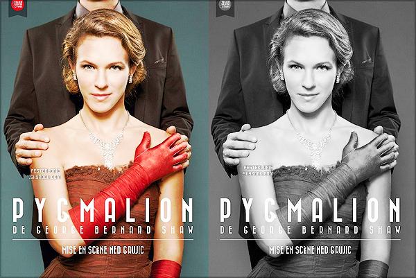 """● ● ● ● A partir du 9 octobre Lorie P. jouera dans """"Pygmalion"""", une pièce de théâtre ! La pièce commencera pas très loin de Paris et prendra fin le 25/05/16 à Mérignac à Bordeaux. Il y a donc 60 dates au total pour la pièce."""