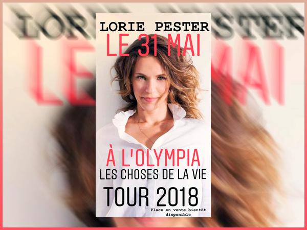Lorie a annoncer via son compte Insta un concert exceptionnel à l'Olympia !
