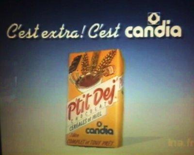 REGALADES 80's____ Le P'TIT DEJ' DE CANDIA...