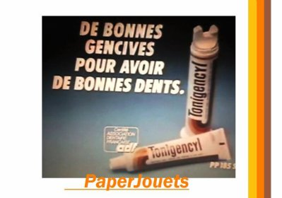 CONSO 80's___le dentifrice TONIGENCYL